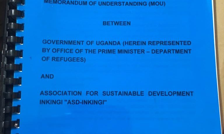 MOU between ASD Inkingi and Office of the Prime Minister of Uganda